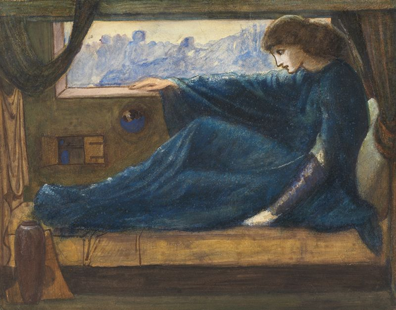 8. Sir Edward Coley Burne-Jones, 1833-1898
