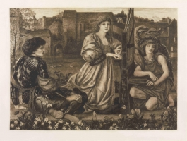10. After Sir Edward Coley Burne-Jones (1833-1898)