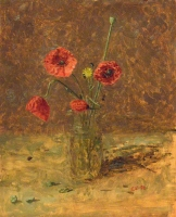 53. Study of Poppies in Jar