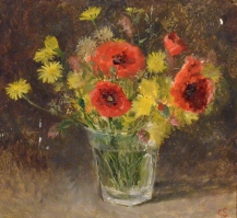 59. Poppies and Daisies