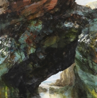 3. Arch and cliff at Tregurrian