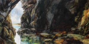 11. Rock Pool Cave Panorama