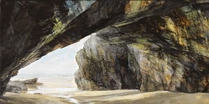 3. Cave mouth at Newtrain Bay