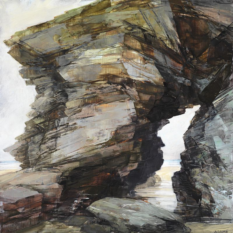 1. Study of an arch at Watergate Bay